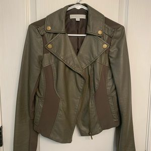 Olive green jacket from New York and company